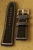 Poljot leather watch band strap22mm