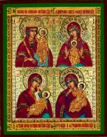 Four Icons of the Mother of God