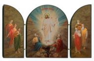 Pascha - Resurrection of Christ TRIPTYCH
