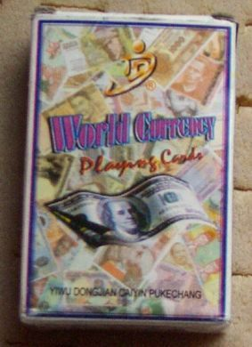 world PLAYING CARDS 54 SHEETS